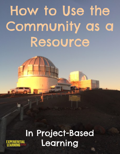 The community is an awesome resource for teachers and learners, whether it be in the classroom or beyond the walls of the classroom. Community is especially prevalent in project-based learning. Check out this blog post on how to use the community as a resource in project-based learning.