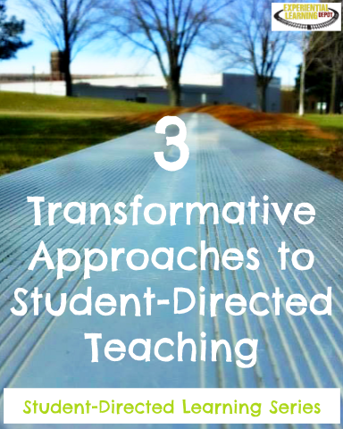 Student-directed teaching is an instructional approach where students are given choices that reflect their personal interests, learning styles, goals, skill levels, etc. If you're interested in moving in this direction, check out three instructional methods that make the transition seamless and the results transformational.