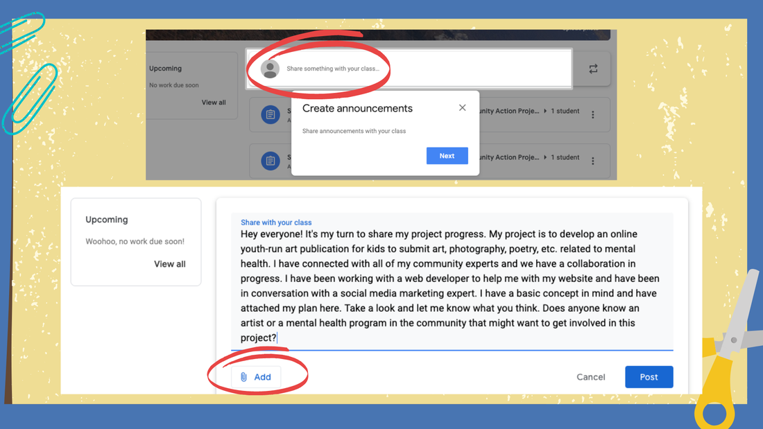 Project-based learning, especially when self-directed, requires teacher guidance and facilitation. How do you communicate and provide project feedback from a distance? How do you monitor project progress on Google digital resources? Find out here.