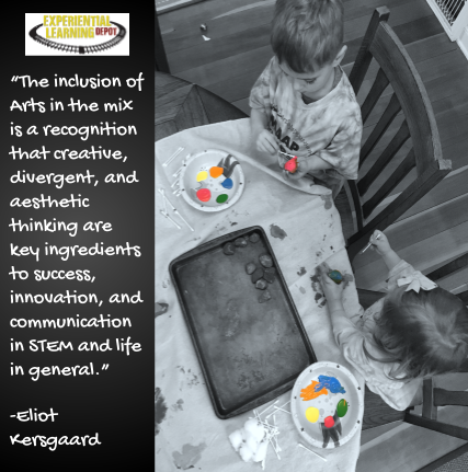 Eliot Kersgaard of Myra Makes guest posts for Experiential Learning Depot on 5 ways STEAM can improve learning outcomes.