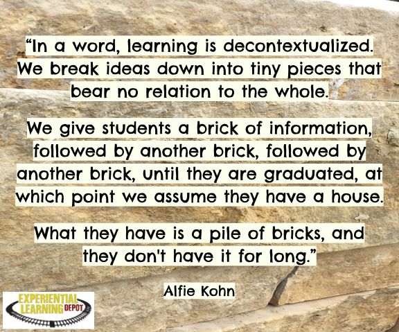 Why I Don't Give My Students Worksheets and What to Do Instead by Experiential Learning Depot - Most teachers would agree that worksheets aren't the most effective learning tool, yet I see them used ALL the time. Particularly as homework. Why is this? Check out why I don't give drill worksheets to my students, isolating concepts from a whole as one of those reasons, as well as common reasons teachers assign worksheets and why parents support them, and worksheet alternatives.