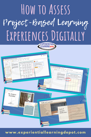Project-based learning is all about learning outcomes that are not measurable with a test. In addition to, or instead of testing, try assessing student work with project rubrics, teacher narratives, and project portfolios, all of which can be done digitally! Check out these tips for virtual project evals!
