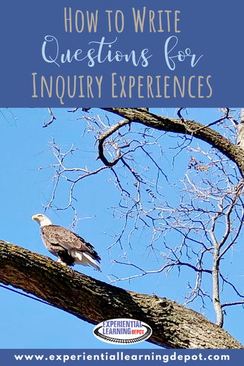 Asking deep and purposeful questions is the backbone of an inquiry-based learning experience. This post walks you through how to write big questions for big inquiry experiences.