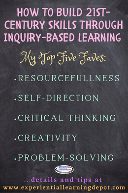 Inquiry-based learning is a highly effective way to incorporate 21st-century skill building into your high school curriculum, whether that be in a classroom or from home.  Critical thinking, creativity, and problem-solving among others, are organically infused in inquiry learning experiences. Take advantage!