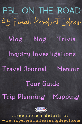 33 PBL Projects for Educational Travel Experiences - Project-based learning is a fun and interesting way to enhance learning on any travel experience, whether it's while worldschooling, on a school trip, or even expanding ones' skills and knowledge on a personal or family travel adventure. Project options are endless. Here are a few high school project ideas to get you started.