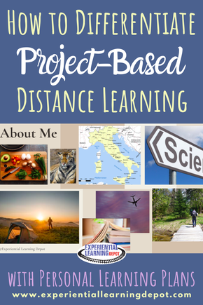 If you're looking for ways to differentiate distance learning with high school students, start here! Here you'll find tips and tricks for using project-based learning and personal learning plans to make learning relevant, engaging and personalized for students at home.