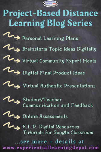 Now is the perfect time for high school teachers to start project-based learning! Rest easy knowing that project-based learning can be seamlessly implemented from a class AND from a distance. Check out what's ahead with this new blog series on distance learning and digital project-based learning.
