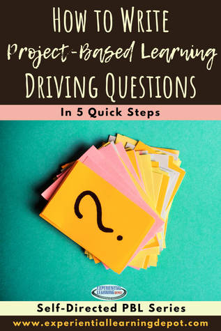 Driving questions for project-based learning guide the experience by providing learners with clarity and purpose. But how to write one, that is the question? Start here.