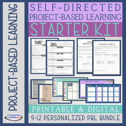 Self-directed project-based learning starter kit for high school students
