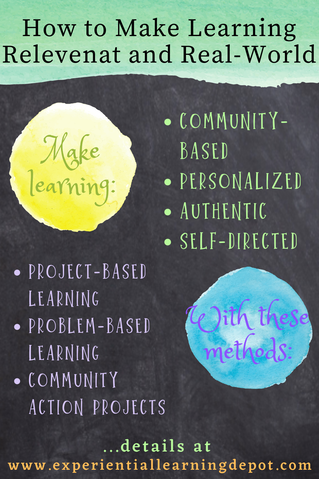 Relevance and connecting concepts to the real-world, the lives of the students, is critical for engagement and intrinsic motivation. There are four simple ways to make learning experiences relevant and purposeful for students, and they're easy to implement.
