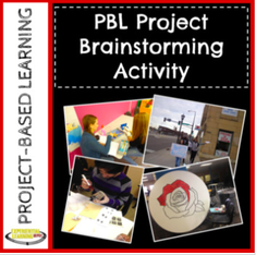 Free project-brainstorming activity
