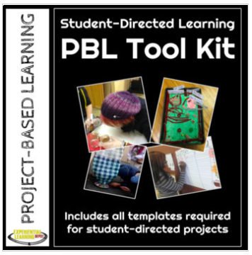 Project-based learning self-directed tool kit and project planner.
