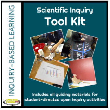 Scientific open-inquiry tool kit and planner.