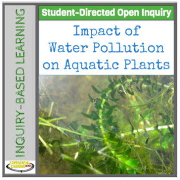 Scientific guided-inquiry resource about water pollution.