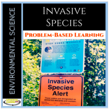 Problem-based learning resource about invasive species.