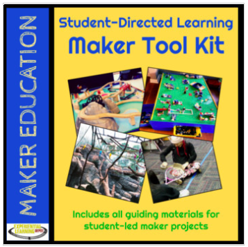 Maker education tool kit and planner.