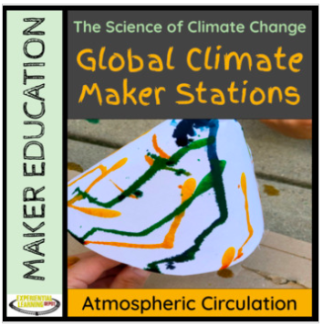Maker stations about global climate and atmospheric circulation.