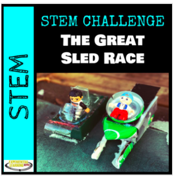 STEM challenge about sledding