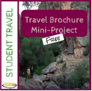 Travel Brochure Mini-Project for High School Students